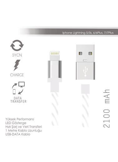 Renkli iPhone5/5S/6/6S Usb Kablo-Soultech